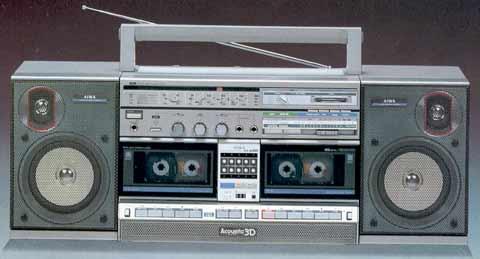radiocasette Aiwa CA-W20