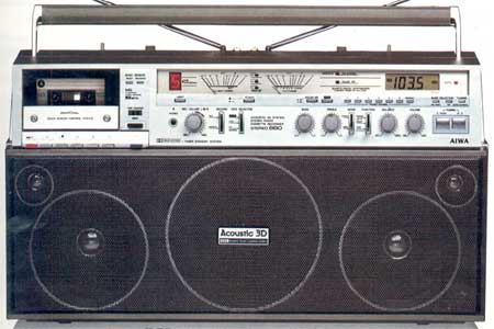radiocasette Aiwa CS-880 3d
