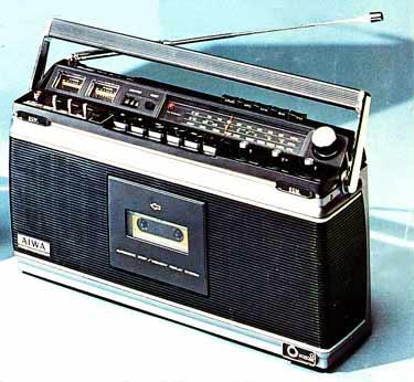 radiocasette Aiwa TPR-801