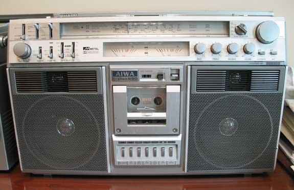 radiocasette Aiwa TPR-990