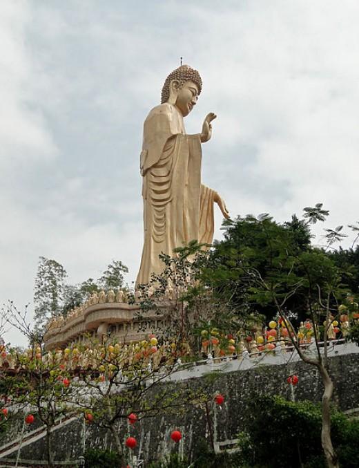 Amitabha estatua buda Taiwan