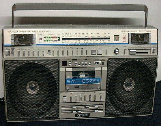 radiocasette Citizen JTR-1292