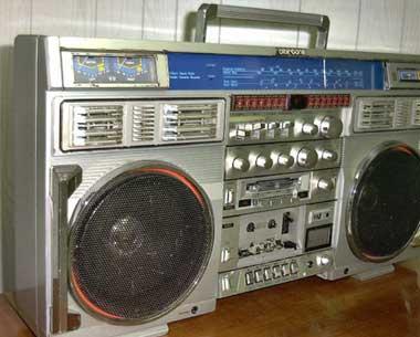 radiocasette Clairtone 7980