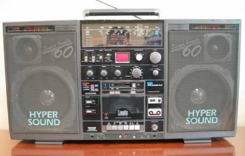 radiocasette Conion C-126F
