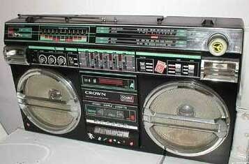 radiocasette Crown SZ-5100