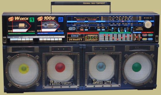 radiocasette Dynasty ES-555 Disco Lite