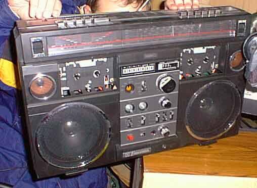 radiocasette Emerson