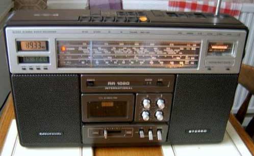 radiocasette Grundig RR-1020