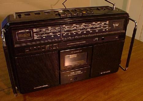 radiocasette Grundig RR-750 alemania oeste 1982