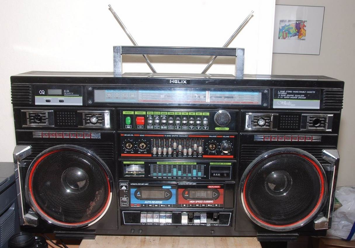 radiocasette Helix 5000