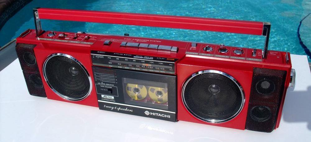 radiocasette Hitachi TRK-6700H