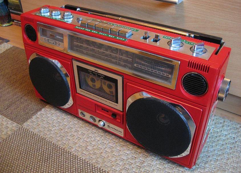 radiocasette Hitachi TRK-8020EW