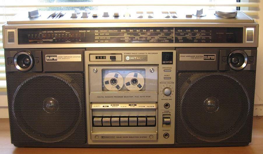 radiocasette Hitachi TRK-8190E