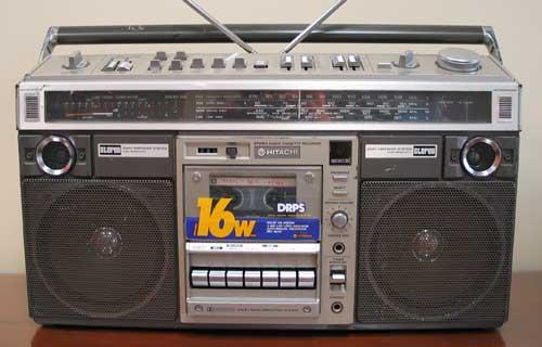 radiocasette Hitachi TRK-8290
