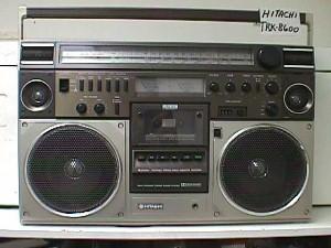 radiocasette Hitachi TRK-8600