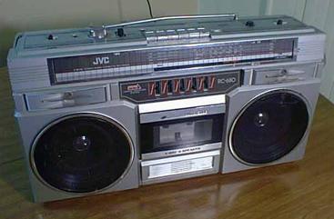 radiocasette JVC RC-680