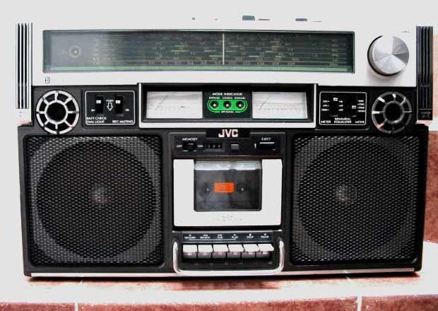 radiocasette JVC RC-838JW
