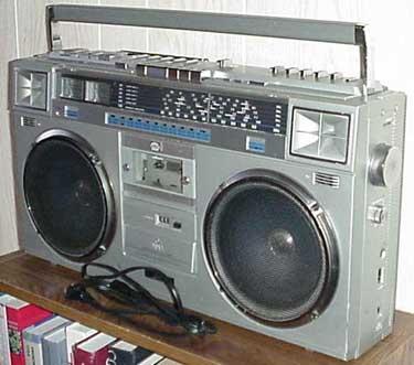 radiocasette JVC RC-M70