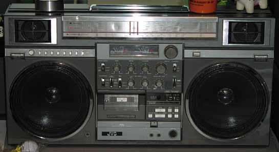 radiocasette JVC RC-M90