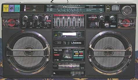 radiocasette Lasonic TRC-931 boombox