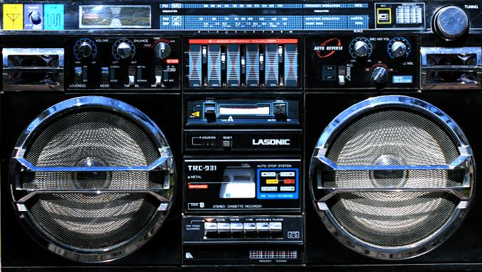 radiocasette Lasonic TRC-931