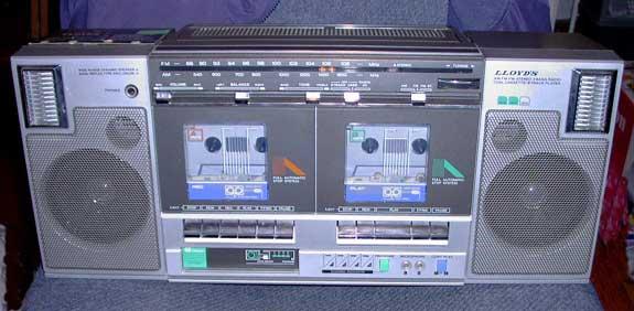 radiocasette Lloyds