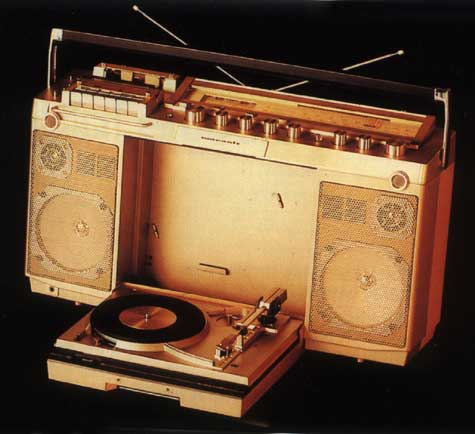radiocasette Marantz PMS-6000 1982
