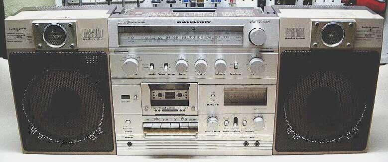 radiocasette Marantz PMS-7000