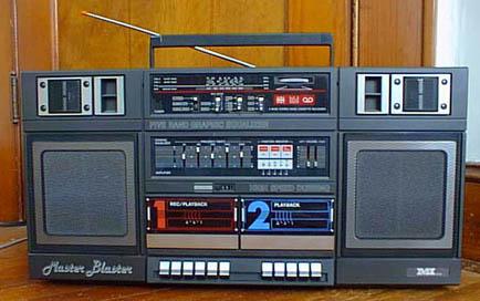 radiocasette Master Blaster MI-J8080