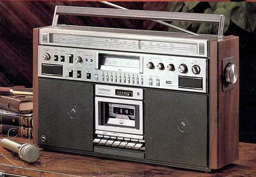 radiocasette National RX-5700