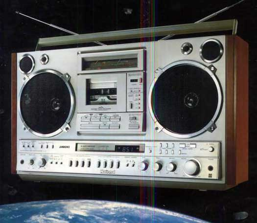 radiocasette National RX-7200
