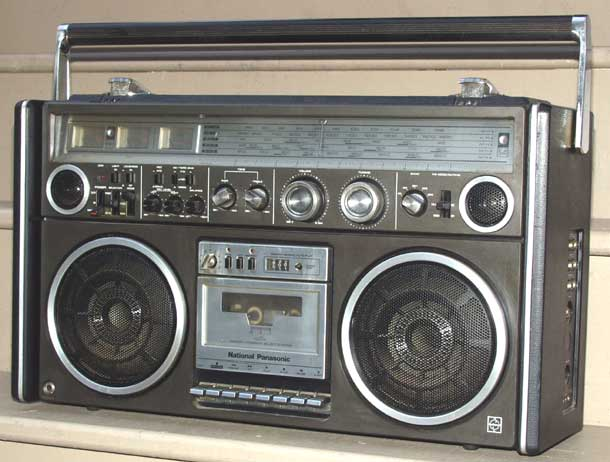 radiocasette Panasonic National RS-4360