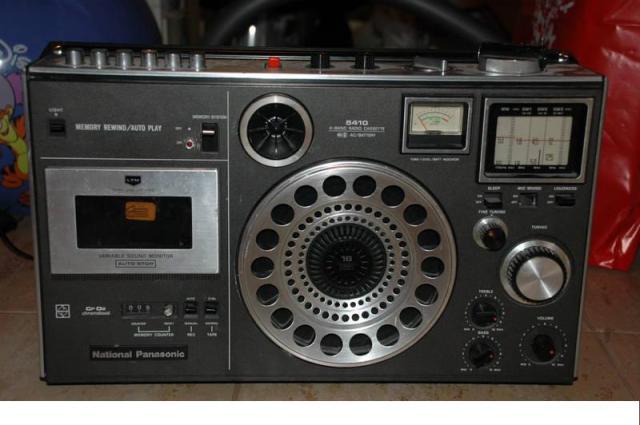 radiocasette Panasonic RF-5410B