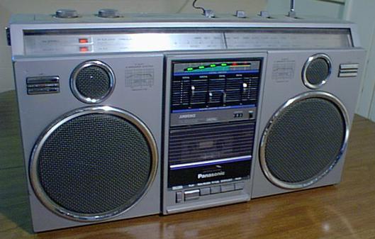 radiocasette Panasonic RX-5050