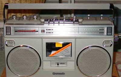 radiocasette Panasonic RX-5090