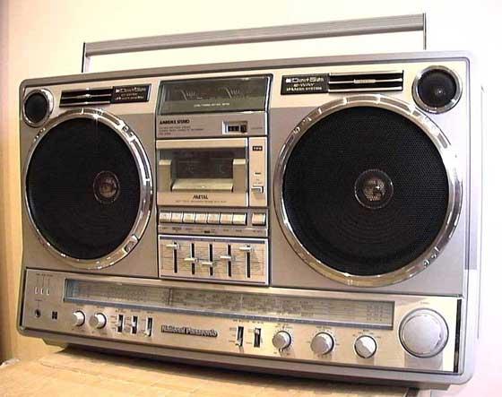 radiocasette Panasonic RX-5350 1983