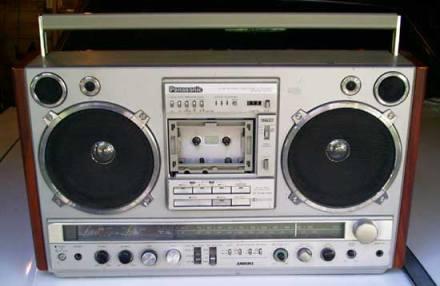 radiocasette Panasonic RX-7000