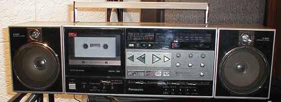 radiocasette Panasonic RX-C52 1983