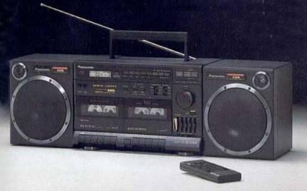 radiocasette Panasonic RX-CT950 1989