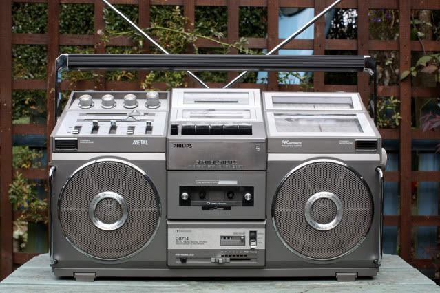 radiocasette Philips D8714