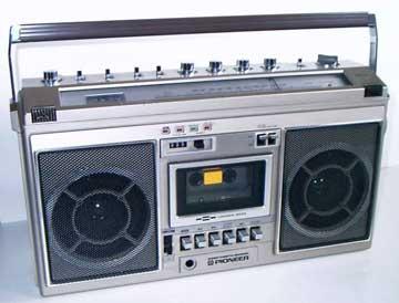 radiocasette Pioneer SK-21