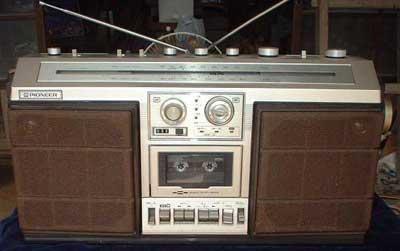 radiocasette Pioneer SK-80
