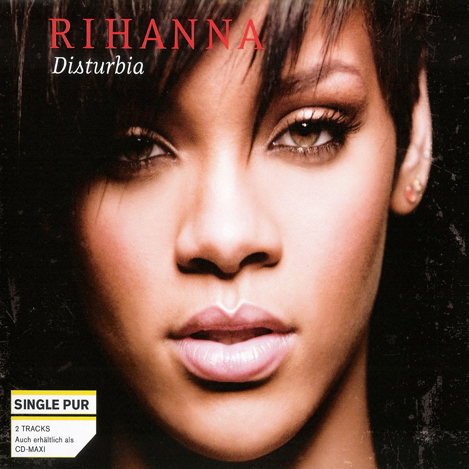 Rihanna Disturbia CD Single Front