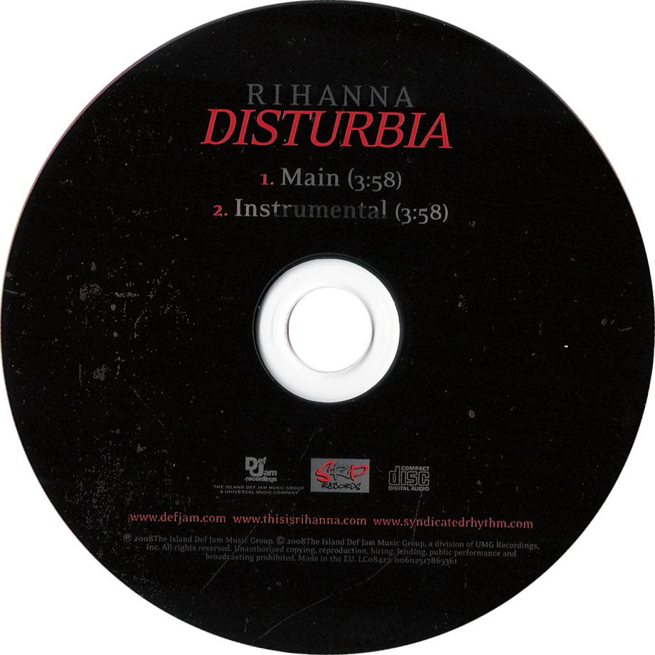 Rihanna Disturbia Single CD