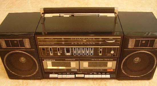 radiocasette Sanyo C-35