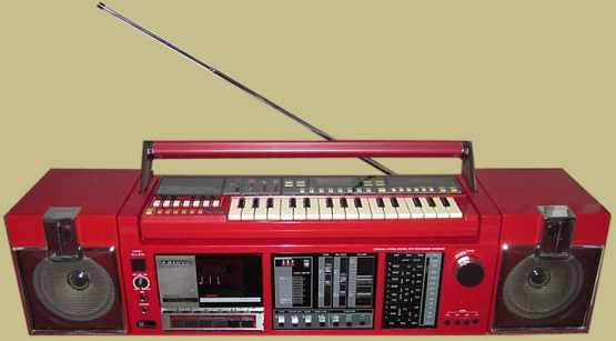 radiocasette Sanyo KBX-7