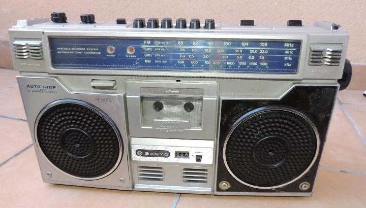 radiocasette Sanyo M-9921K