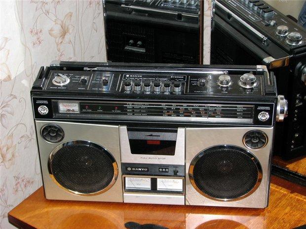 radiocasette Sanyo M-9994 1985
