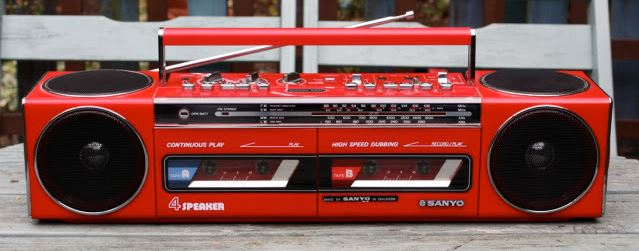 radiocasette Sanyo M-WS400L