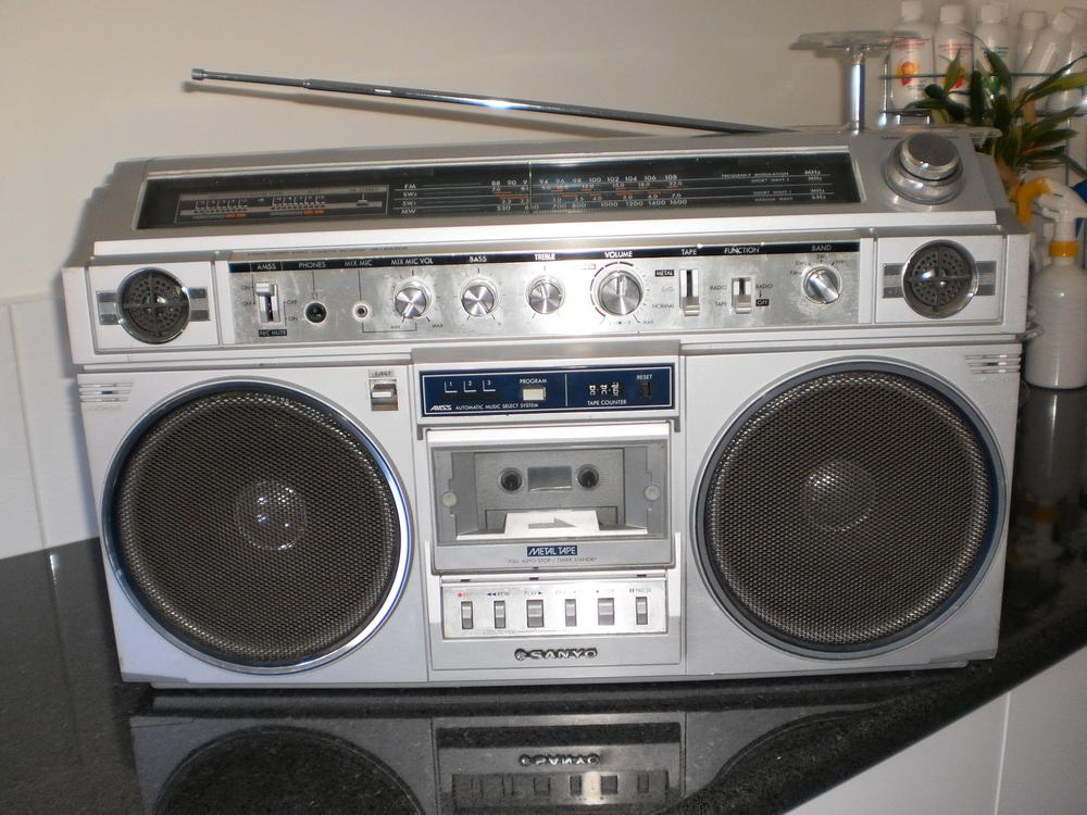 radiocasette Sanyo MX-620